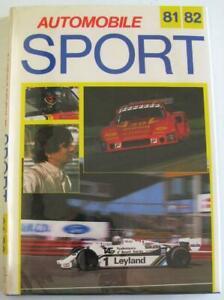 Automobile Sport 81-82 Ian Bamsey ISBN 0907804012 Car Book