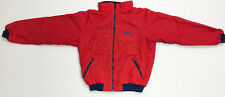 Vintage Red Patagonia Shelled Pile Jacket 1980's XL Fleece MADE IN USA