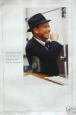 """FRANK SINATRA """"KING OF THE HILL, TOP OF THE LINE,A-NUMBER ONE"""" U.S. PROMO POSTER"""