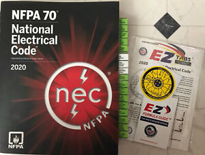 2020 NEC National Electrical Code Book NFPA 70 w/ EZ Tabbed Plus Free...NEW***
