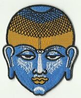 écusson ECUSSON PATCHE  THERMOCOLLANT PATCH PORTRAIT BOUDDHA DIM. 8 X 6,8 CM