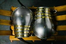 Collectibles Medieval Knight Armour Churburg Shoulder/Pauldrons With Brass Trims