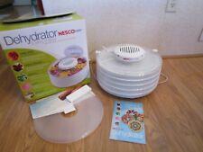 Nesco American Harvest Dehydrator & Jerky Maker-400 Watts-Fd-37