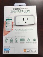 New iHome Smart Plug Control WiFi Apple Siri Alexa iOS Android Wink Nest