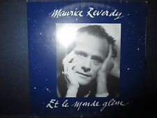 MAURICE REVERDY Et le monde glisse 172852 CD SINGLE S/S