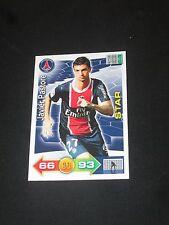 PASTORE PSG PARIS ST GERMAIN STAR  Trading card carte ADRENALYN PANINI 2011-2012