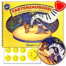 Tastenzauberei Band 1 - Klavierschule mit CD von Anike Trabon - 9789043124669