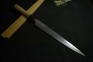 Japanese Kitchen / Chef knives Masamoto Sohonten Yanagiba 270mm w/ sheath 1861