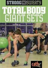 Weight Training DVD - CATHE FRIEDRICH Strong and Sweaty TOTAL BODY GIANT SETS!