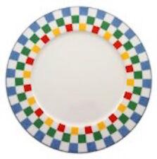 """Villeroy Boch Tipo Viva Buffet Round Platter 12"""" Checkered New"""