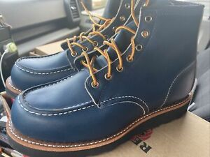 Rare Red Wing 8853 Mock 8E Red Wing Indigo Factory Seconds NIB Japan exclusive