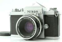 【NEAR MINT】 Nikon F Eye Level 35mm SLR + Nikkor-S 50mm f/2 Lens From JAPAN #787