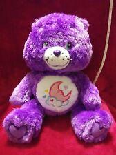 "��Rare 2006 13"" Floppy Fluffy Silky Purple Sweet Dreams Care Bear Scented Plush"