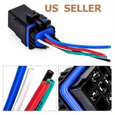 DC12V40A 5PIN Waterproof Integrated Automobile Relay AUTO FUSE RELAY With Socket