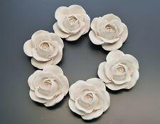 40 Pieces, Decorative Plaster Flowers, Home Décor, Ceiling Design, Art Design