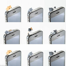 1Pcs Cheese Cat 3.5mm Anti Dust Earphone Jack Plug Stopper Ear Cap For Iphone