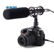 BOYA BY-PVM1000 Condenser Shotgun Video Mic Microphone 3-Pin XLR For DSLR Camera