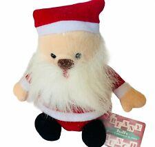 Beany Jolly Bunch Plush Russ Berrie vtg Christmas Holiday bean bag NWT tag Santa
