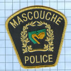 International Police Patch - Mascouche Canada Quebec