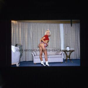 Non Nude 35mm Transparency Slide Female Model Original Pinup 11.13
