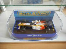 Slotcar Scalextric F1 Formula 1 Renault H. Kovalainen 2007in White/Yellow in Box