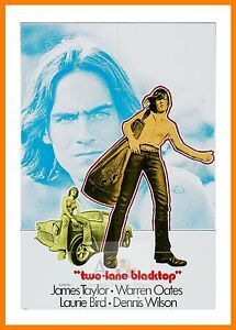 Two Lane Blacktop   Hippy Culture Movie Posters Classic Films