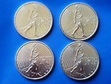 Lot 4 pièces de 25 euro Argent La Semeuse 2009 La Monnaie de Paris ~ non circulé