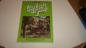 Britain Call at a Pub Map 1981 Rare