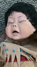 "Legacy Dolls Native American Baby ""Moonglow"" by Terri DeHetre Limited 226/250"