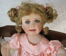 "Paradise Galleries 2003 Abbie 23"" Porcelain Doll, Linda Murray"