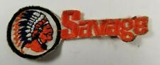 """Savage Arms Firearms Iron-on Embroidered Patch 5"""" x 1.5"""" Vintage"""