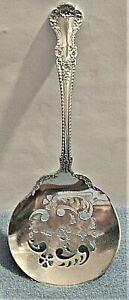 """RARE GORHAM SILVER Co.1899 CAMBRIDGE PATTERN 7.5"""" STERLING SILVER TOMATO SERVER"""