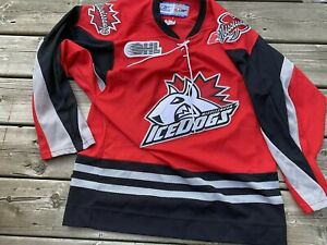 RBK OHL Mississauga IceDogs CHL Official Jersey Adult Small Autographed