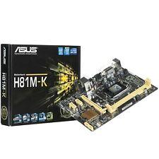 Placa Base Motherboard Asus H81M-K 90MB0HI0-M0EAY0 Socket 1150 4ª GEN Intel DDR3