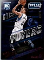 2014-15 Panini Threads High Flyers Century Proof Red #10 Zach LaVine /99 - NM-MT