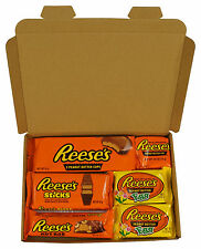 Reese's American  Chocolate Gift Box Hamper - Reeses Egg Peanut Butter HERSHEYS