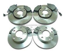 AUDI a 6 A6 C5 97-04 1,8 1,8 T 1,9 TDi 2.0 avant et arrière disques de freins et plaquettes nouveau