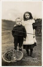 Hyde Children Rescued from Pit Shaft 1910. Sarah Leech & John Bowker.