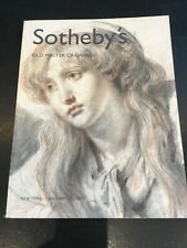 catalogue Sotheby's Old Master Drawings ,dessins Anciens