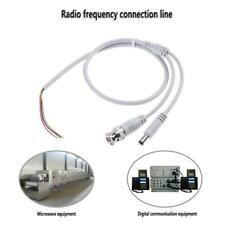 60cm DC Male Adapter+BNC 3Pin Wire Male Connector Cable for Security Camera
