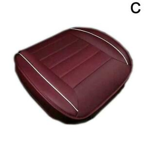 Car Seat Cover PU Leather Breathable Pad Mat For Auto Universal Chair x1 Y8X5