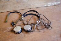 Antique HOLTZER CABOT of BOSTON  Headphones, Telegraph Radio WWII USA