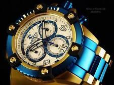 Invicta 13717 Mens Arsenal Chronograph Day Date Retrograde Two Tone Blue Watch