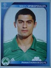 PANINI 391 Nikos Spiropoulos PANATHINAIKOS UEFA CL 2008/09