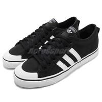 adidas Originals Nizza Black White Canvas Men Casual Shoes Sneakers CQ2332