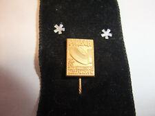 Abzeichen Anstecknadel Pin Auszeichnung PIRSCH Kal. 20 Jagd-Parcours Hattenhofen