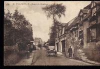 14 CPA VILLERVILLE ROUTE DE HONFLEUR  A VOYAGE EN 1933