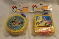 Wile E Coyote/Road Runner Roadrunner Cantoons Canteen Yellow Looney Tunes 1992