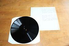 Bessie Smith Dixieland Jug Blowers Johnny Dodds Mamie Smith  - UK Acetate LP