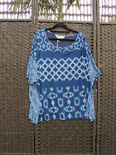 TS 14+ Virtuelle Interlace 2 in 1 Blue Top Tunic S BNWT RRP$109.95